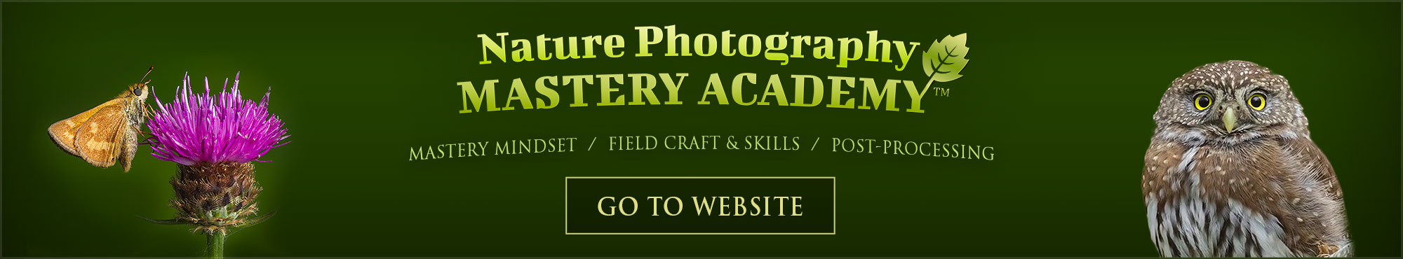 Nature Photography Mastery Academy - Go to Website